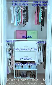 entryway closet rescue from cluttered to clean and functional idolza