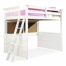 Duro Z Bunk Bed Loft With Desk White Bunk Beds Amp Loft Beds At - White bunk bed with desk