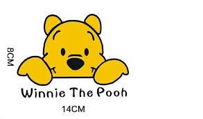 winnie pooh sticker sticker design