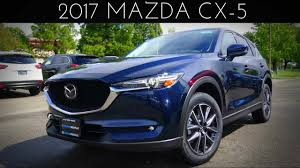 2017 mazda vehicles 2017 mazda cx 5 grand touring 2 5 l 4 cylinder review youtube