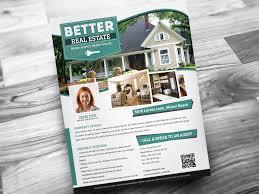 Real Estate Property Flyer Template by Designfathoms