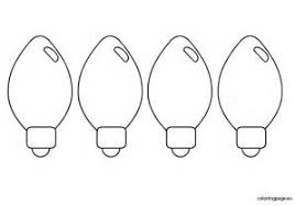 Christmas Light Template 6 Best Images Of Christmas Light Template Printable Light Bulb