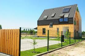 Modern Dormer Modern House Exterior Solar Panel And Solar Water Heater On The