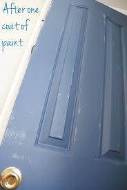 pop of color how to paint a door jenna burger