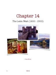 ap world chapter 14 the latin west 1200 1500 study guide