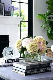 coffee table floral arrangements coffee table flower arrangement vases and flowers living room ideas