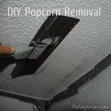 removing popcorn ceilings things do on spare time pinterest
