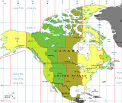 usa map with time zones and cities us canada map with time zones map of us time zones with cities 218