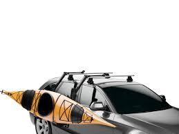 porta kayak per auto thule hullavator pro load assist kayak carrier 898 olympic