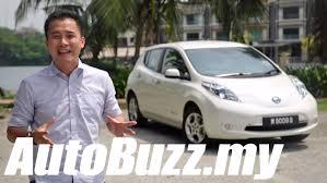 nissan leaf malaysia price 2013 nissan leaf electric car review autobuzz my youtube