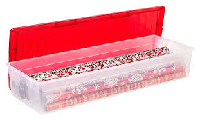 wrapping paper box plastic wrapping paper storage box in gift wrap organizers