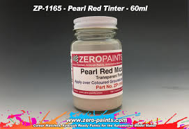 pearl red zero paints model paint airbrush paint