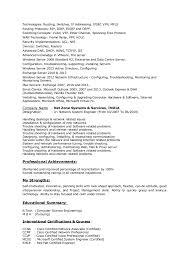 Voice Engineer Resume Network System Engineer Resume
