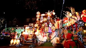 christmas light show packages entire neighborhoods battle for best christmas light display video