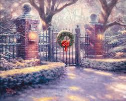 Thomas Kinkade Christmas Tree For Sale by Gates