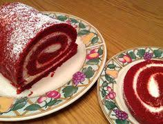 have a look at red velvet cake roll it u0027s so easy to make red