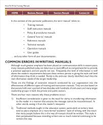 free manual template word https images template net wp content uploads 201