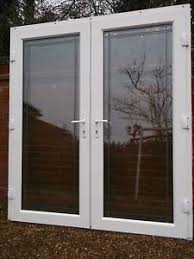 Patio Door Frames Nuvu White Exterior Doors With Side Frames Fully