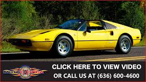 1979 ferrari 308 gts for sale youtube
