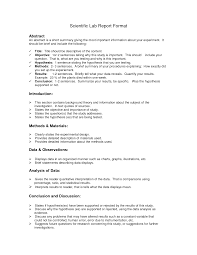lab report format doc environmental science lessons pinterest