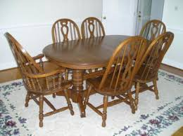 oak dining room set furniture