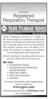 Respiratory Therapist Job Description Resume by Registered Respiratory Therapist Job In Jamestown Glens Falls Or
