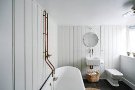 browse diy remodeling archives on remodelista steal this look a vintage bath in england with a diy faucet
