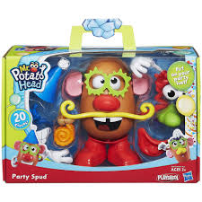 mr potato head party spud figure walmart com
