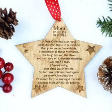 memorial ornament personalized in loving memory