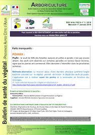 chambre d agriculture 84 bsv bulletin de santé du végétal arboriculture poirier n 1 by fred