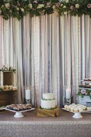 wedding backdrop gallery diy ribbon backdrop tutorial by something borrowed vintage rentals