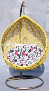 Patio Furniture Chair Covers - decorating rattan papasan chair witih beautiful blue papasan