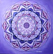 mandala violeta taller mandalas curso el significado del