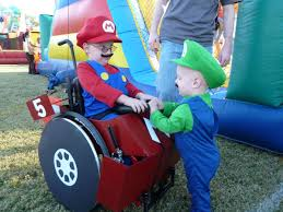 amazing halloween costumes mom cleverly dresses up son u0027s wheelchair with amazing halloween