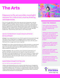 Tip Sheet For Your Creative Parent Tip Sheets National Association For Gifted Children