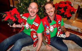 The Ugly Christmas Sweater Party - ugly christmas sweater history from house party to ironic icon