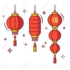 lanterns new year set of new year lanterns and cylinder shape