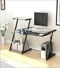 Z Line Belaire Glass L Shaped Computer Desk Z Line Belaire Glass L Shaped Computer Desk U Gaming Regarding