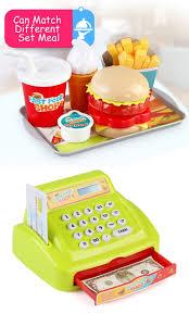 Toy Kitchen Set Food Pretend Supermarket Plastic Play Toys Kitchen Sets For Kids Buy