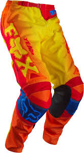 motocross gear ireland 2015 fox 180 motocross pants trousers imperial red yellow mx gear