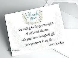 bridal shower thank you notes bridal shower thank you exles mounttaishan info