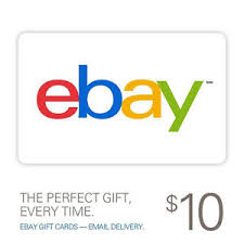 10 gift cards 10 ebay gift card email delivery ebay