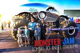 monster truck jam anaheim monster jam 2014 popsicle blog