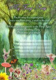 printable party invitations free free kids party invitations fairy party invitation printables