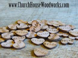 church house woodworks blog tiny wooden hearts for rustic
