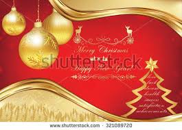 happy new year merry christmas greeting stock vector 531116830