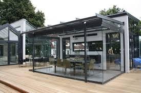 auvent en bois pour terrasse auvent pour terrasse en aluminium sdl atrium carré solarlux