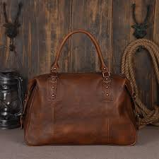 leather travel bags images Handmade full grain leather travel duffle bag by rockcow jpg