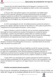 société marseillaise de crédit siège social societe generale marocaine de banques pdf