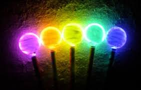 luminous wands from glow sticks things to make and do crafts